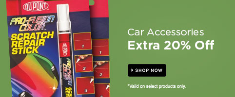 Car Accessories: Extra 20% Off